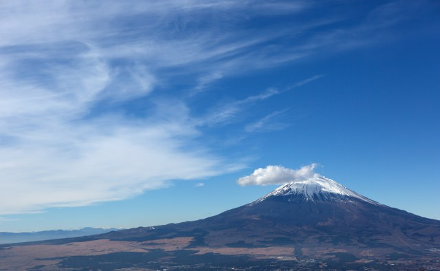 3. Have a view of the majestic  Mt. Fuji, from Mt. Kintoki
