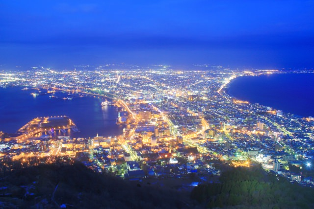1. Romantic memories! A night view from Mount Hakodate