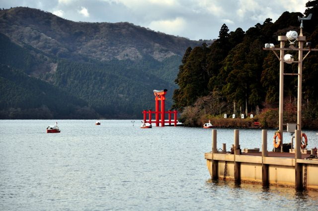 2. The Hakone Shrine gives you power and energy