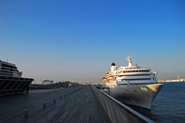 2. Osanbashi Yokohama International Passenger Terminal