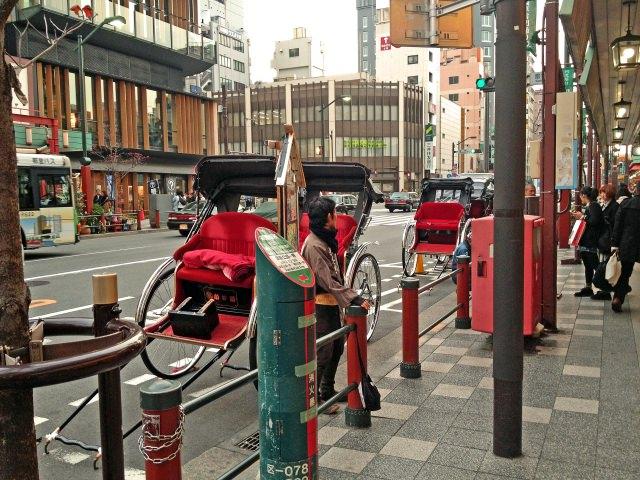 5. Rickshaw (Jinrikisha)