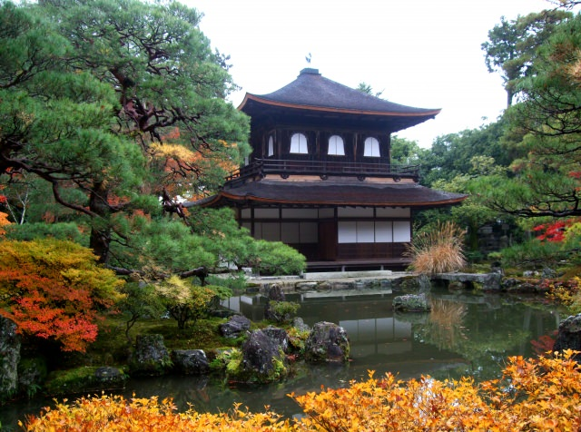 4. Ginkaku-Ji Temple – Wabi-sabi