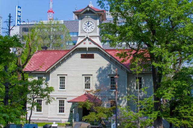10. Sapporo-city Clock Tower