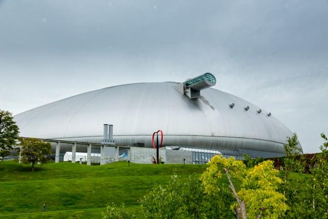 1. Sapporo Dome