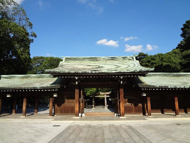 1. Meinj-Jingu Shrine