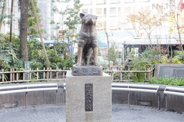 2. Shibuya Hachiko