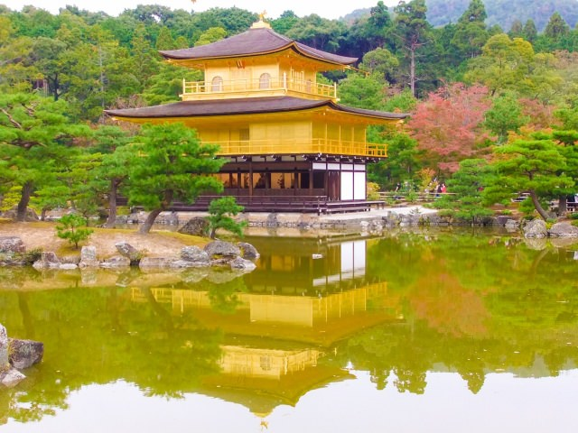 2. The Golden Pavilion, Kinkakuji Temple