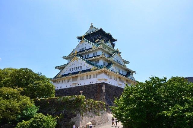 2. Osaka Castle