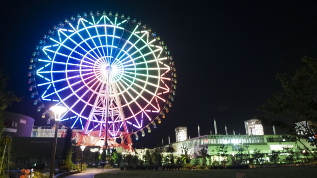 3. Giant Sky Wheel in Palette Town