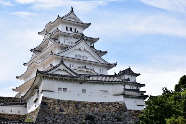 1. Himeji castle