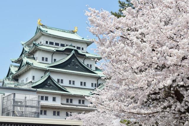 1. Nagoya castle
