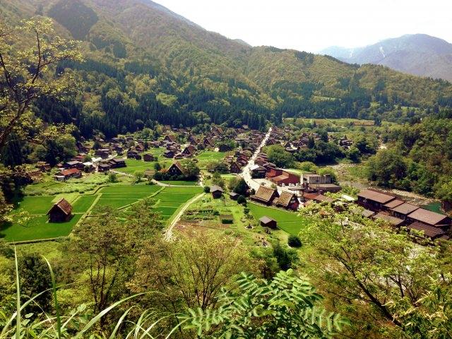 10. Ogimachi Castle Ruin Observation Area