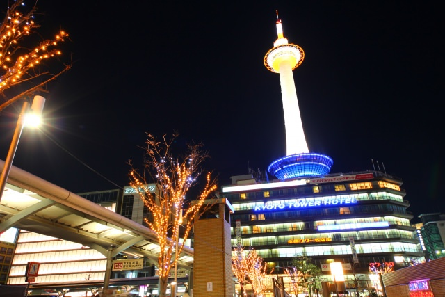 2. Kyoto tower