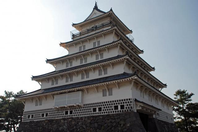 5. Shimabara castle, Koi-no-oyogu-machi