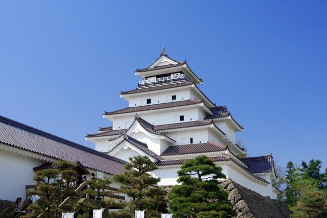 4. Aizu wakamatsu castle