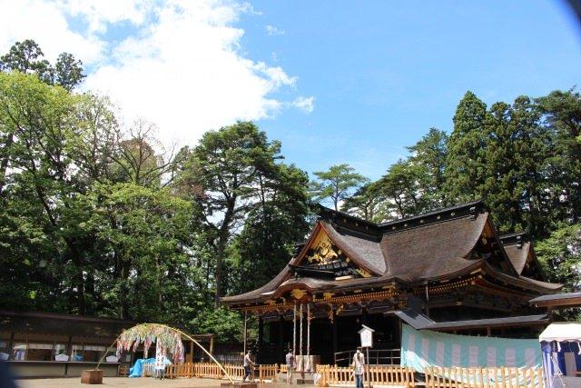 1. Osaki hachimangu